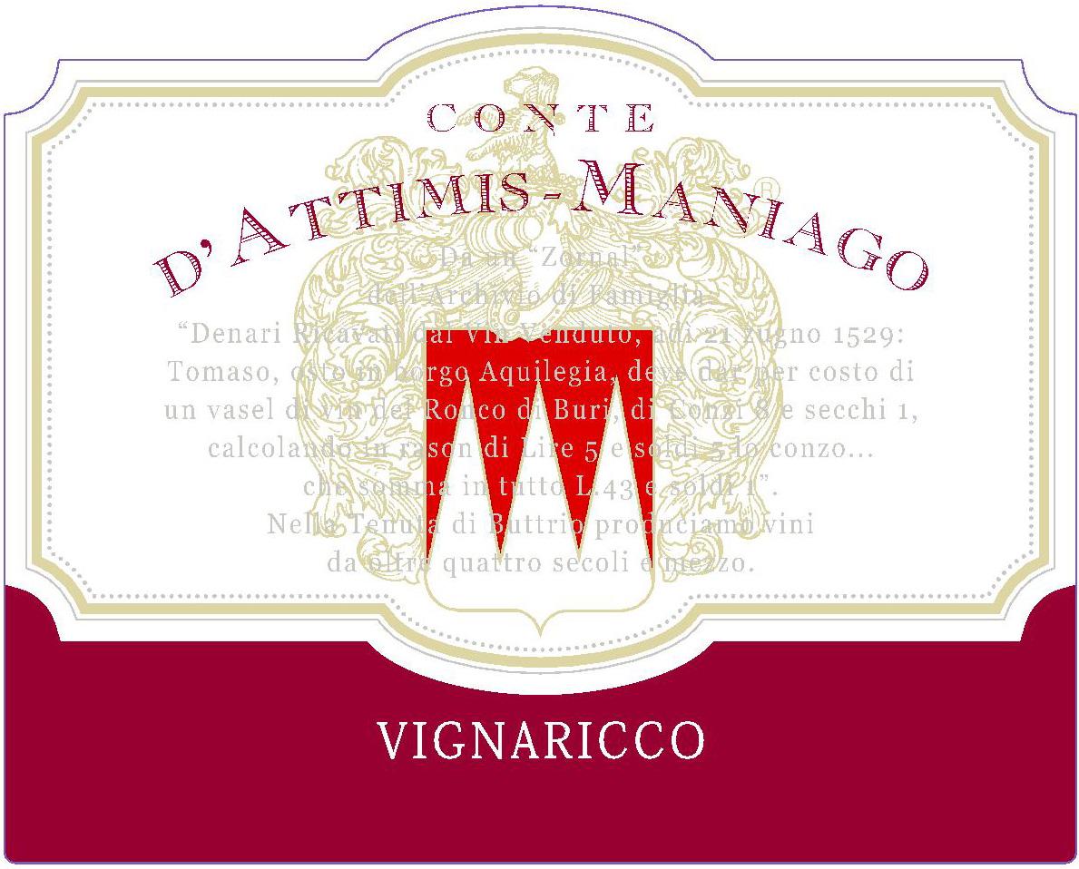 Vignaricco Back